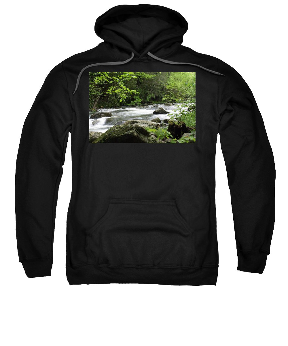 River Sweatshirt featuring the photograph Litltle River 1 by Marty Koch
