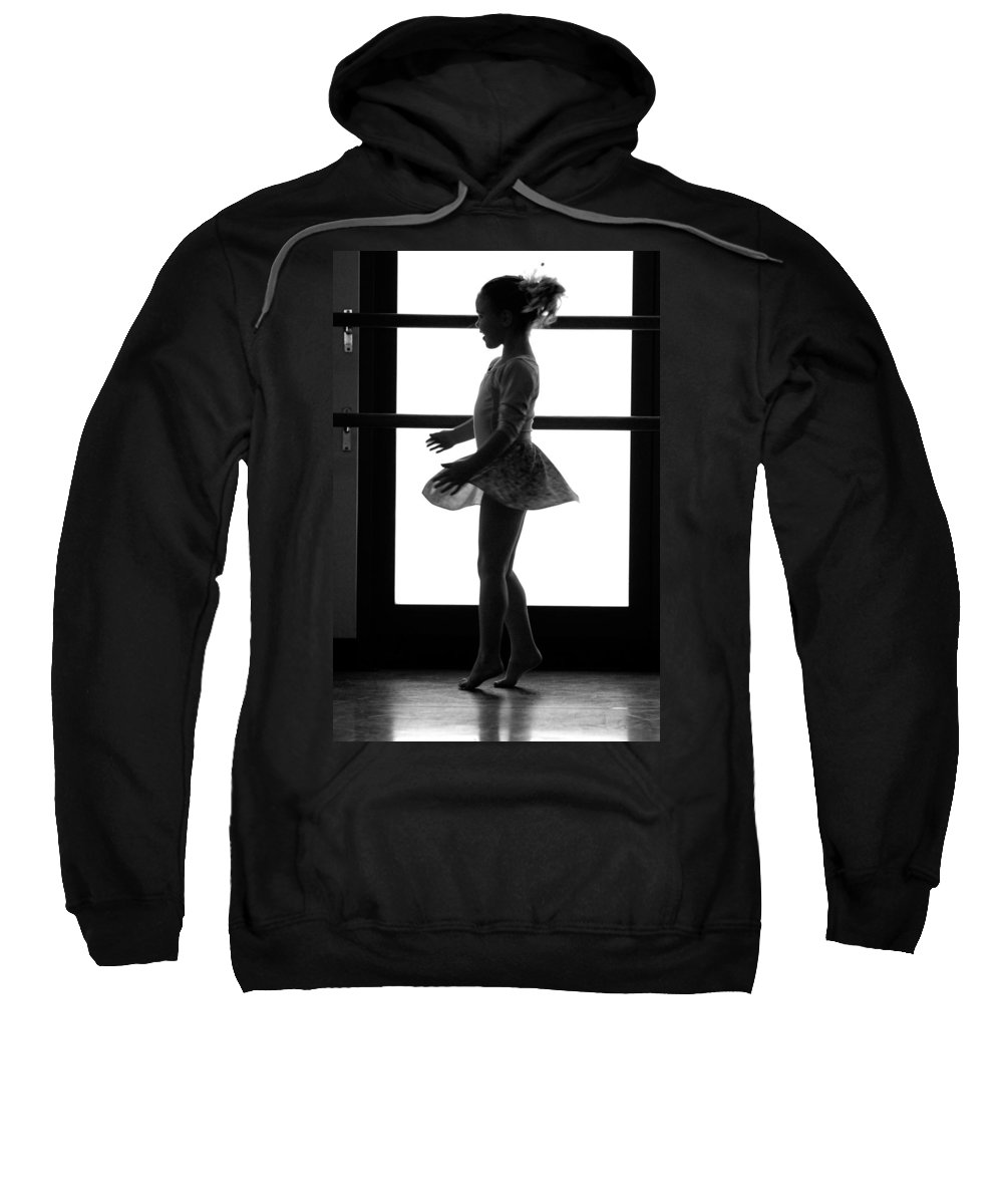 Girl Sweatshirt featuring the photograph Little Ballerina by Jill Reger