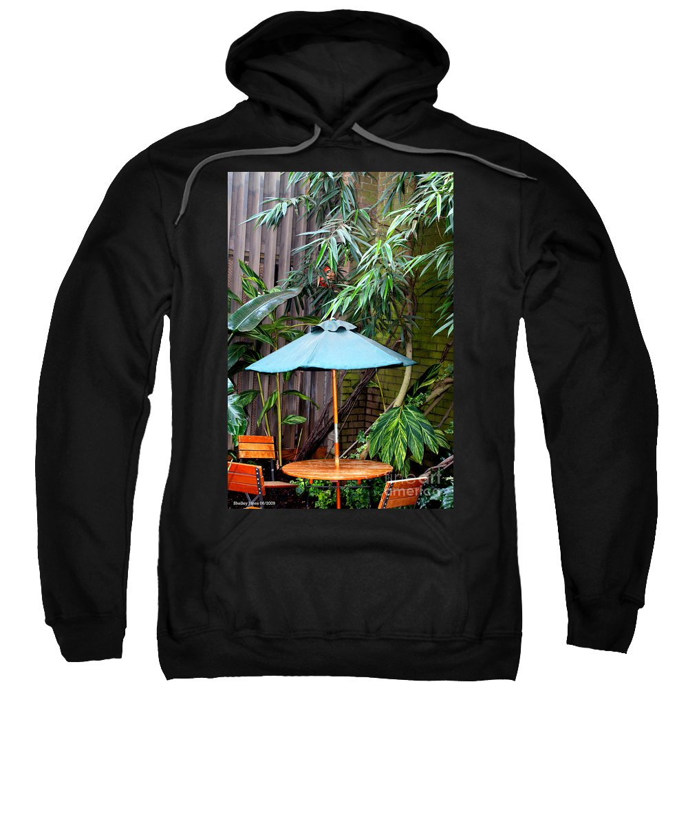 Photography Sweatshirt featuring the photograph Little Oasis by Shelley Jones