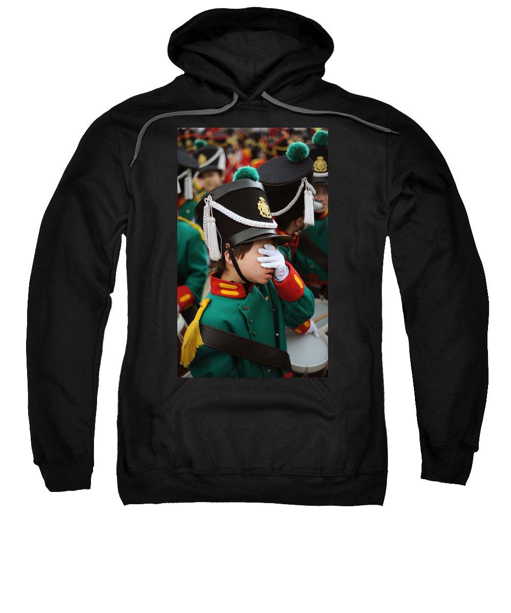 Spain Sweatshirt featuring the photograph Little Soldier I by Rafa Rivas