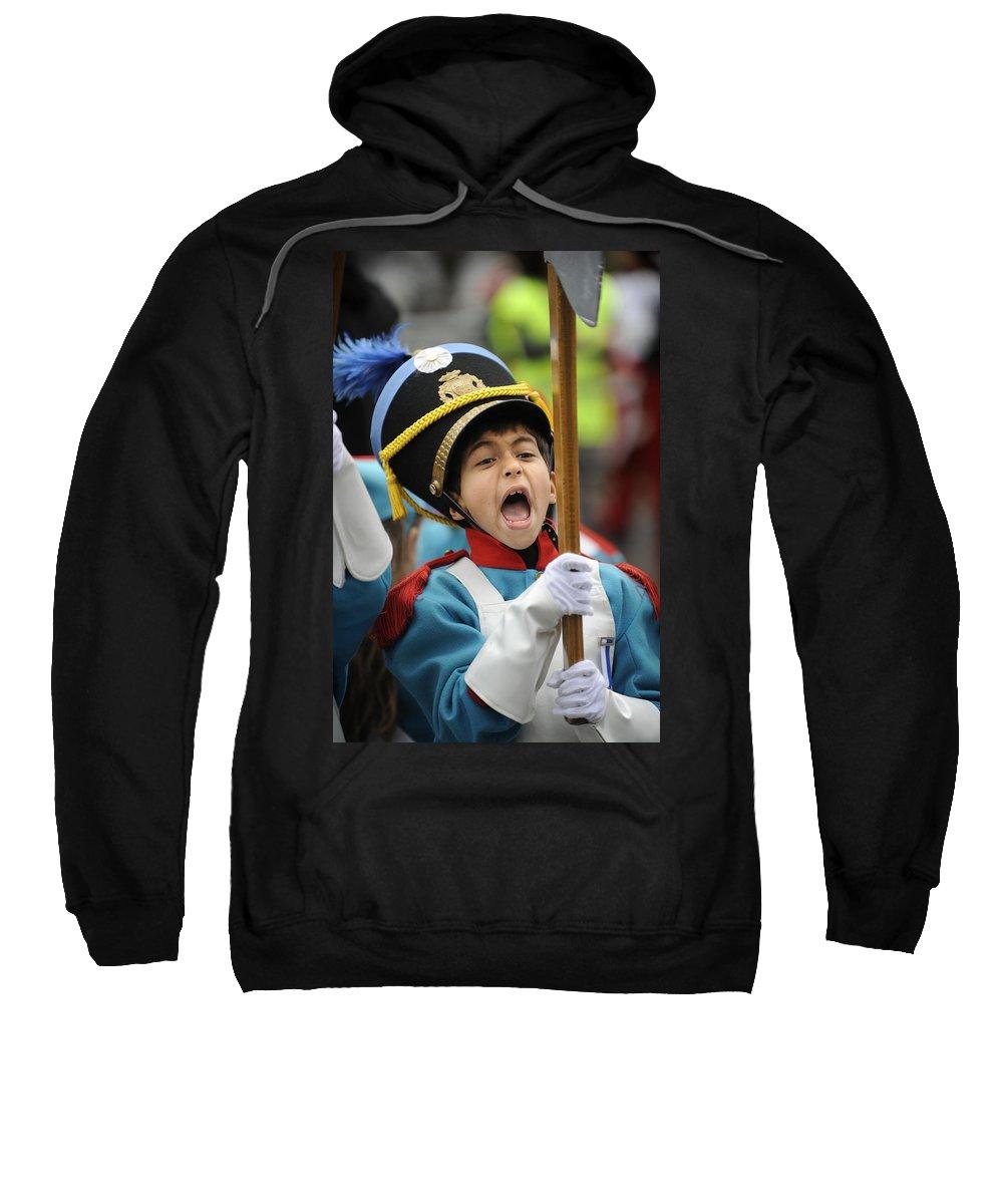Spain Sweatshirt featuring the photograph Little Soldier V by Rafa Rivas