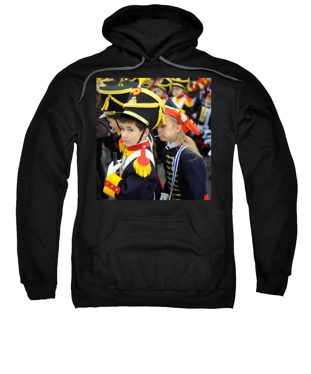 Spain Sweatshirt featuring the photograph Little Soldiers II by Rafa Rivas
