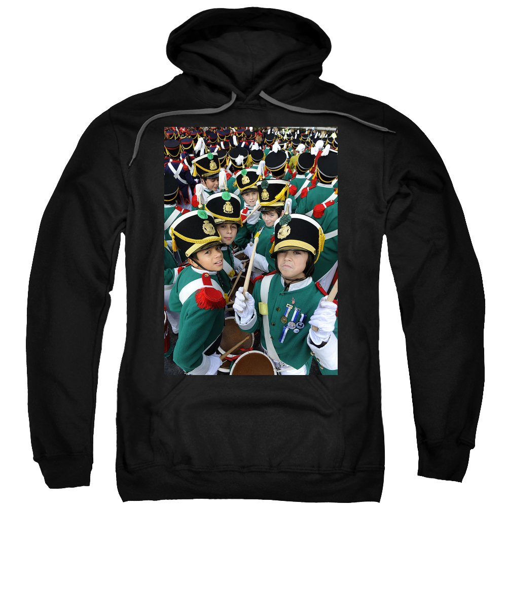 Spain Sweatshirt featuring the photograph Little Soldiers Vi by Rafa Rivas