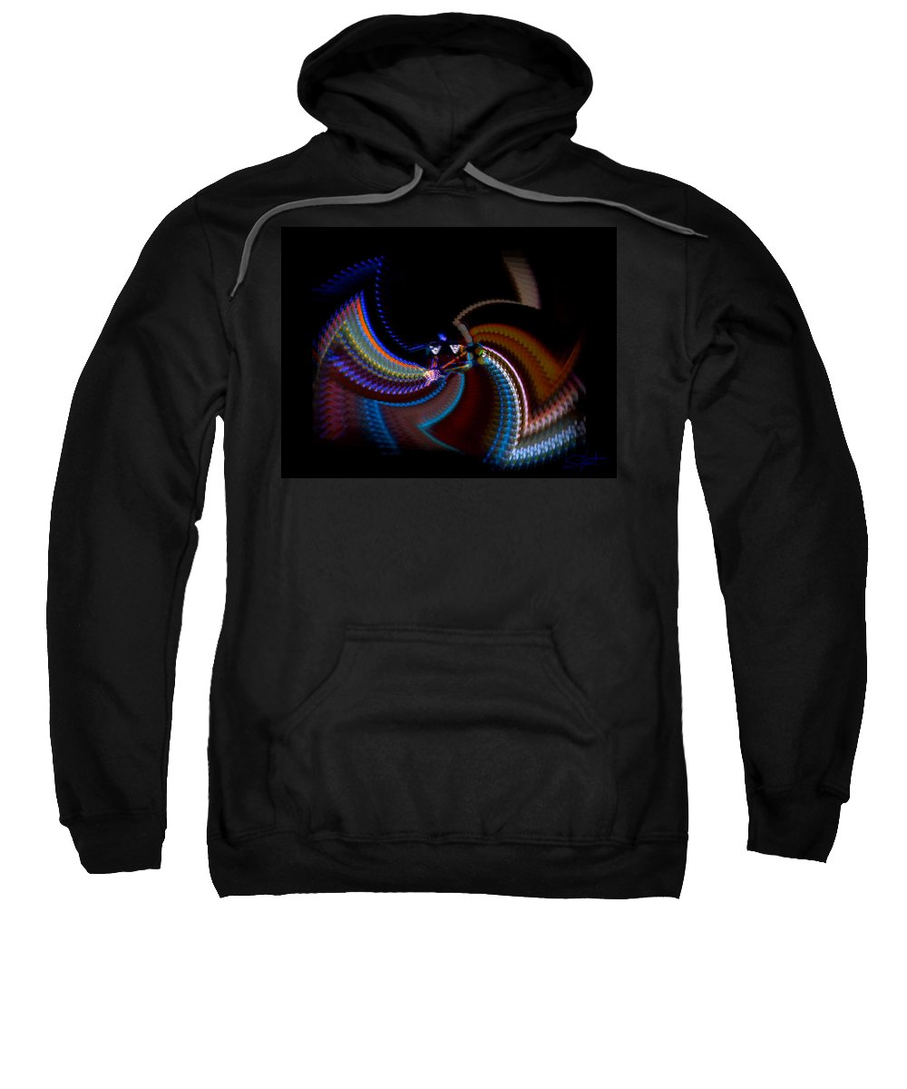 Chaos Sweatshirt featuring the photograph Little Wing by Charles Stuart