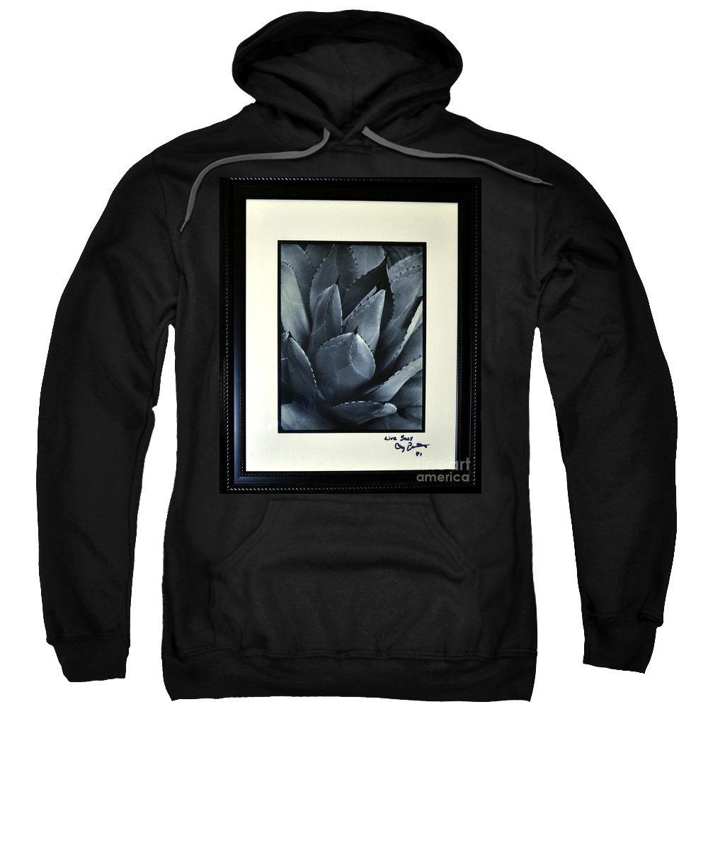 Clay Sweatshirt featuring the photograph Live Sucs by Clayton Bruster