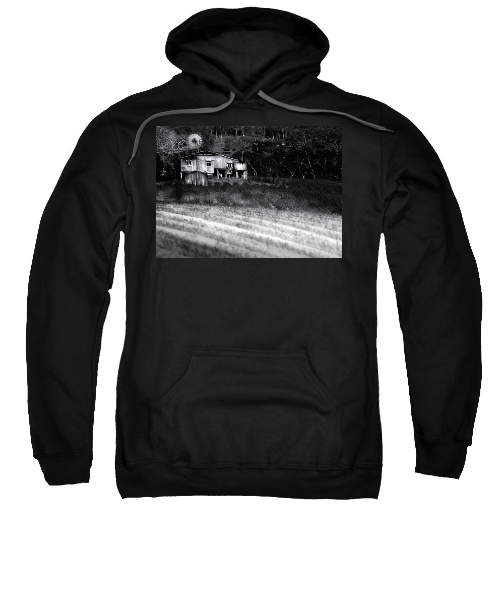Landscapes Sweatshirt featuring the photograph Living On The Land by Holly Kempe