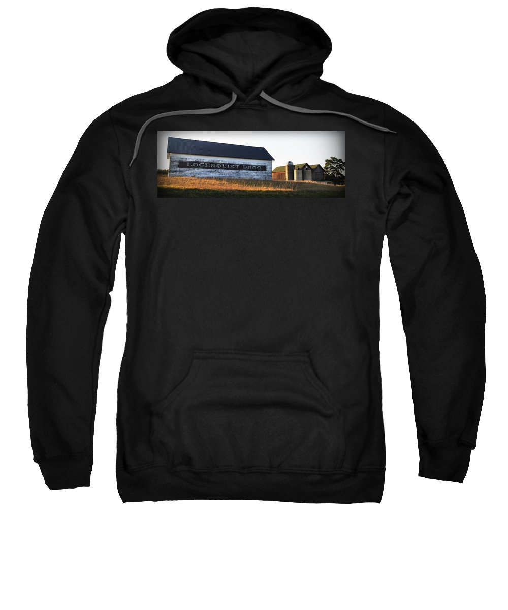 Fall Sweatshirt featuring the photograph Logerquist Bros. by Tim Nyberg