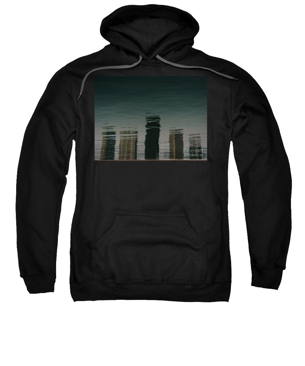 Lake Sweatshirt featuring the photograph Lonely Soul by Dana DiPasquale