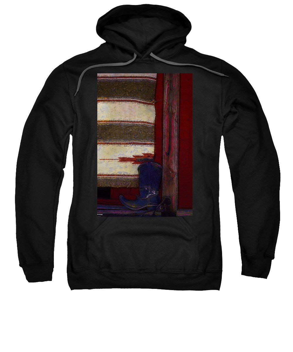 Mexico Sweatshirt featuring the photograph Long Way Home3 by Donna Bentley