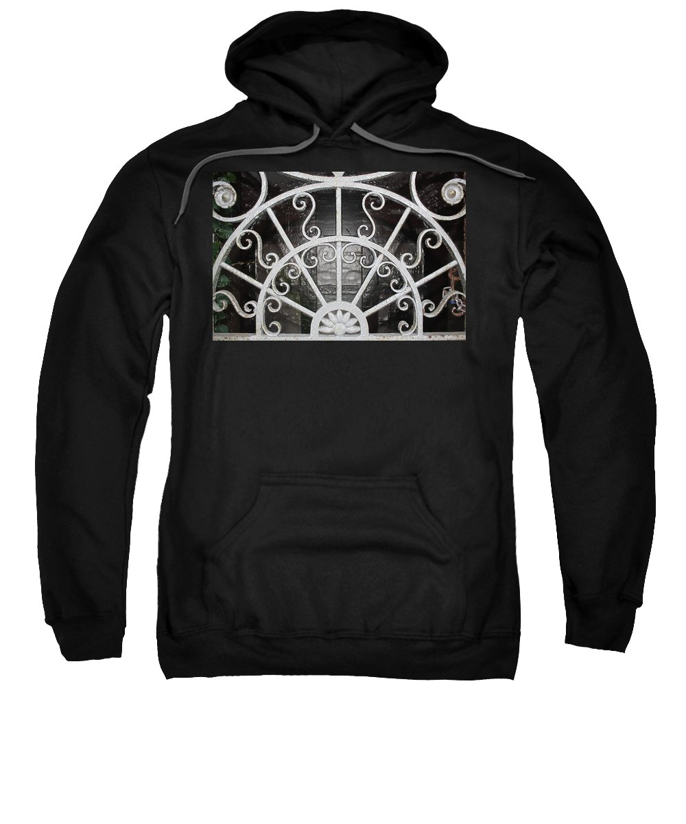 Scenic Sweatshirt featuring the photograph Looking Into The Vault by Erin Rosenblum