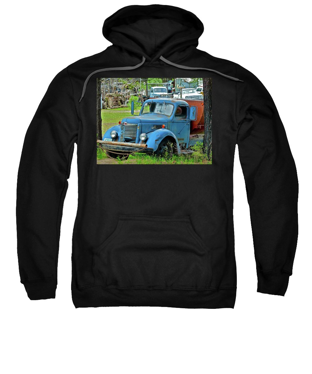 Truck Sweatshirt featuring the photograph Lost Pride by Diana Hatcher