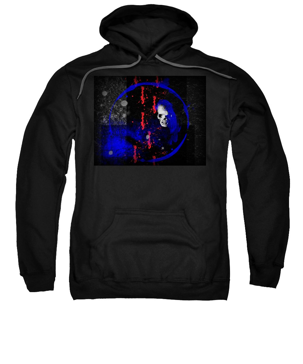 Lost Sweatshirt featuring the digital art Lost Soul by Michael Damiani