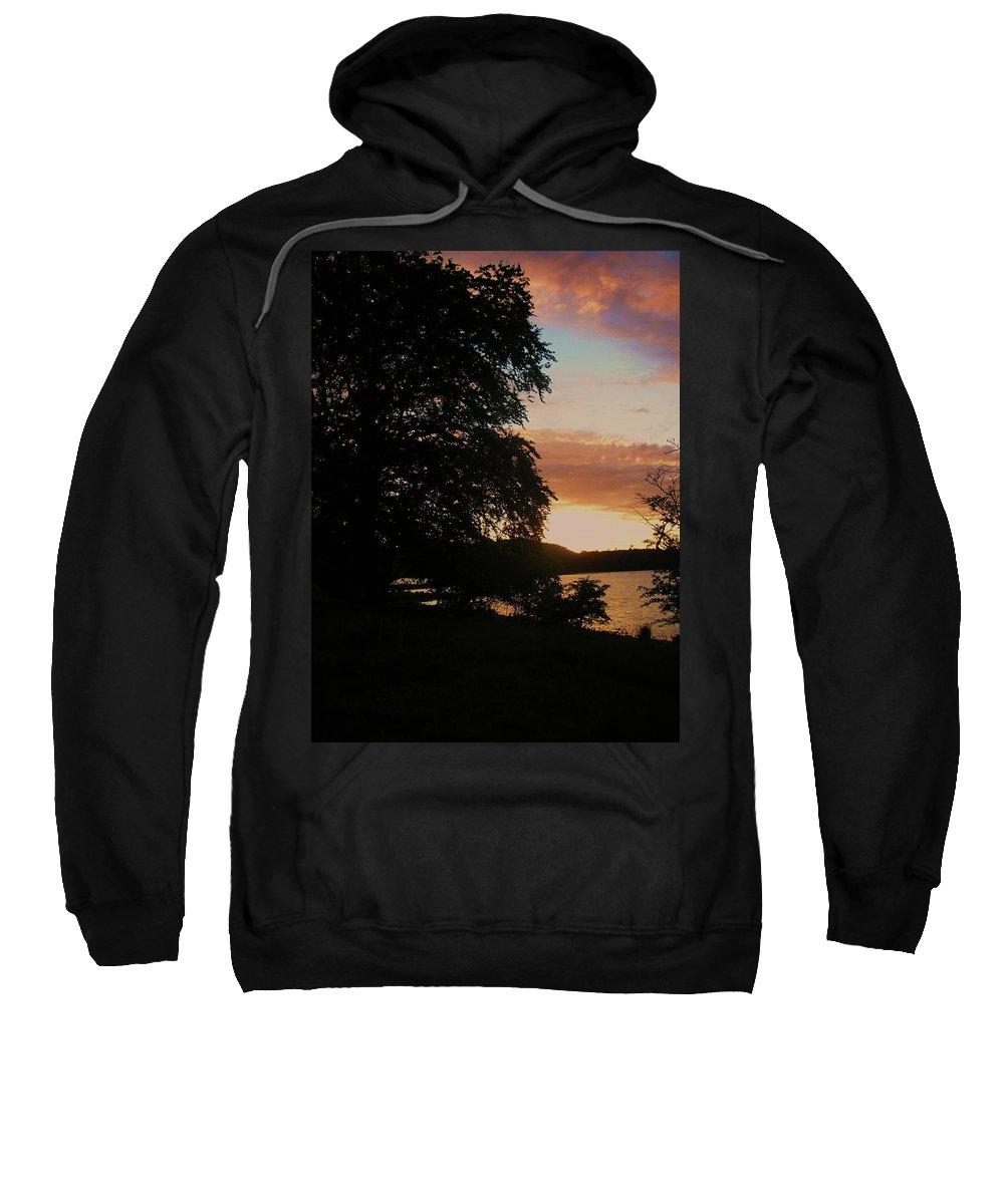 Landscape Sweatshirt featuring the photograph Lough Gill Co. Sligo Ireland by Louise Macarthur Art and Photography