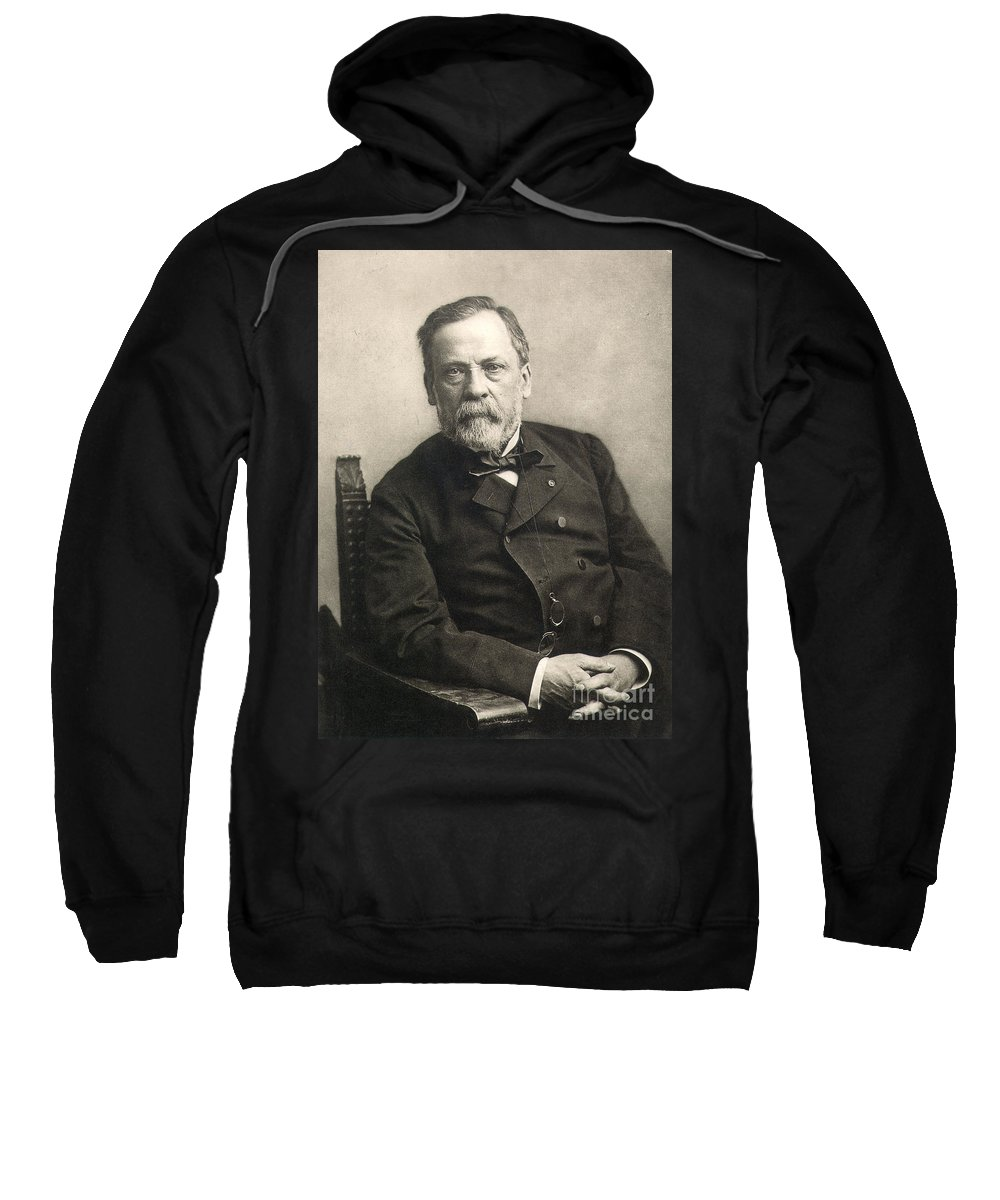 1889 Sweatshirt featuring the photograph Louis Pasteur (1822-1895) by Granger