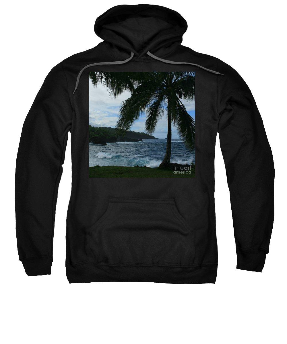 Aloha Sweatshirt featuring the photograph Love Is Eternal - Poponi Maui Hawaii by Sharon Mau