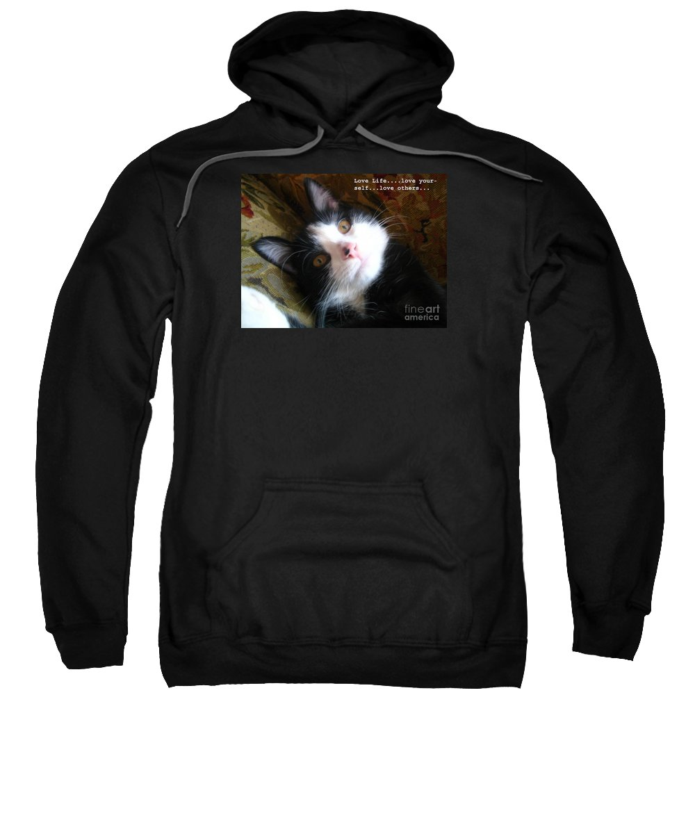 Photograph Sweatshirt featuring the photograph Love Life by Reb Frost