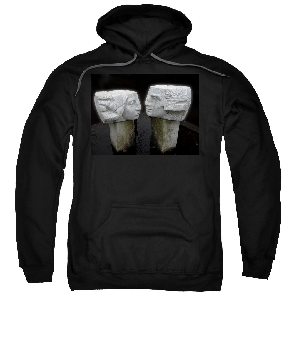 Lovers Sweatshirt featuring the photograph Lovers by Sheryl R Smith