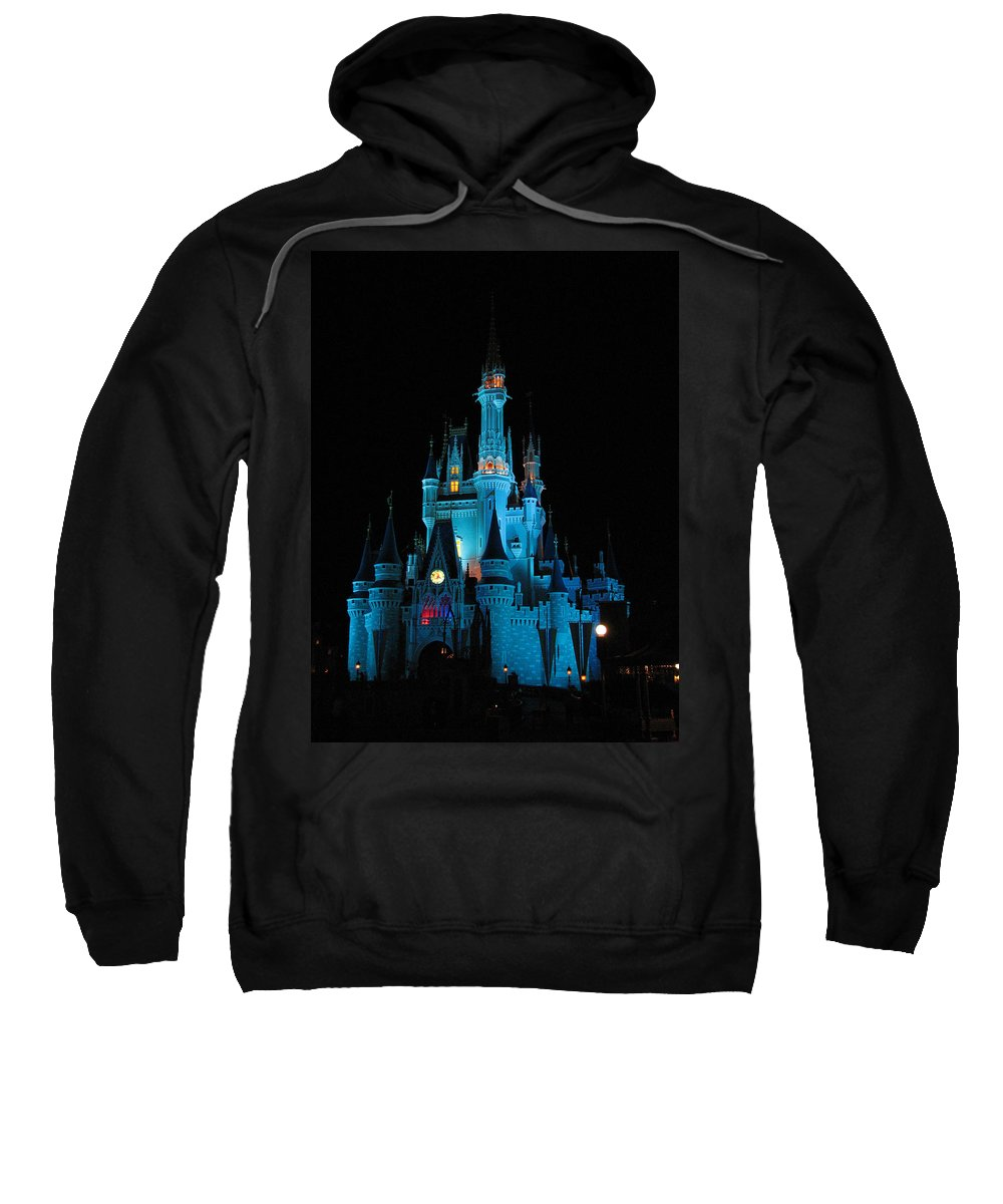 Disney Sweatshirt featuring the photograph Magic Kingdom by Stacey May