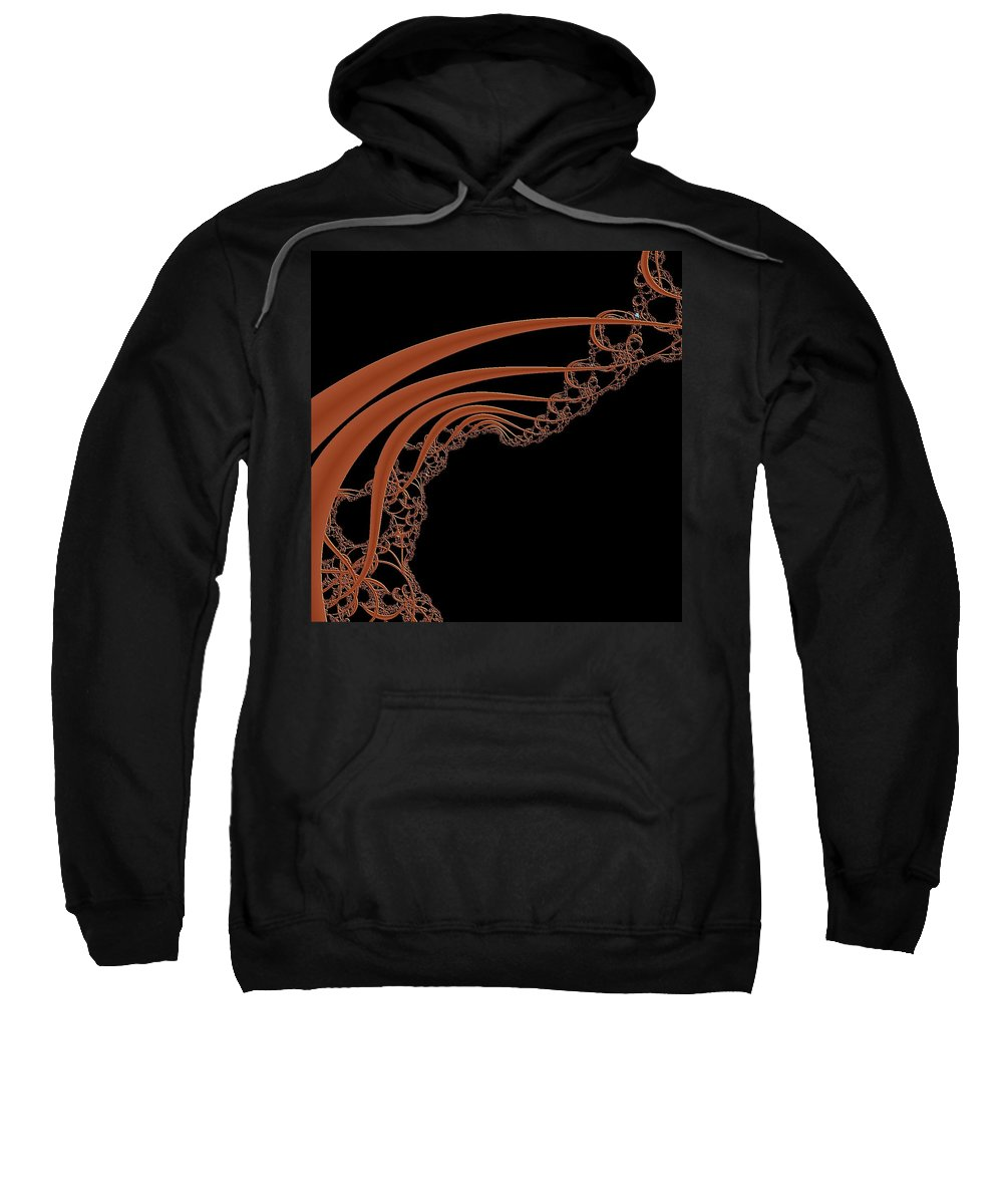 Fractals Sweatshirt featuring the digital art Mandel 3 by Dragica Micki Fortuna