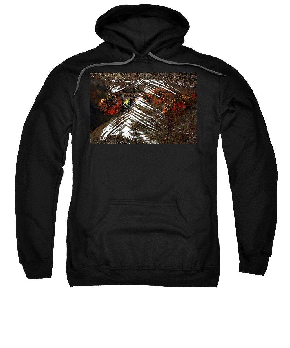 Manoa Falls Sweatshirt featuring the photograph Manoa's Fallen by Jennifer Bright