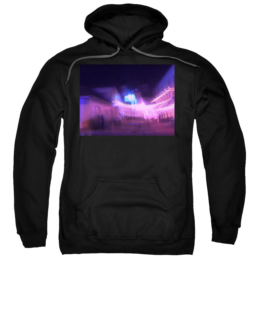 Photograph Sweatshirt featuring the photograph Marion Court Room by Thomas Valentine