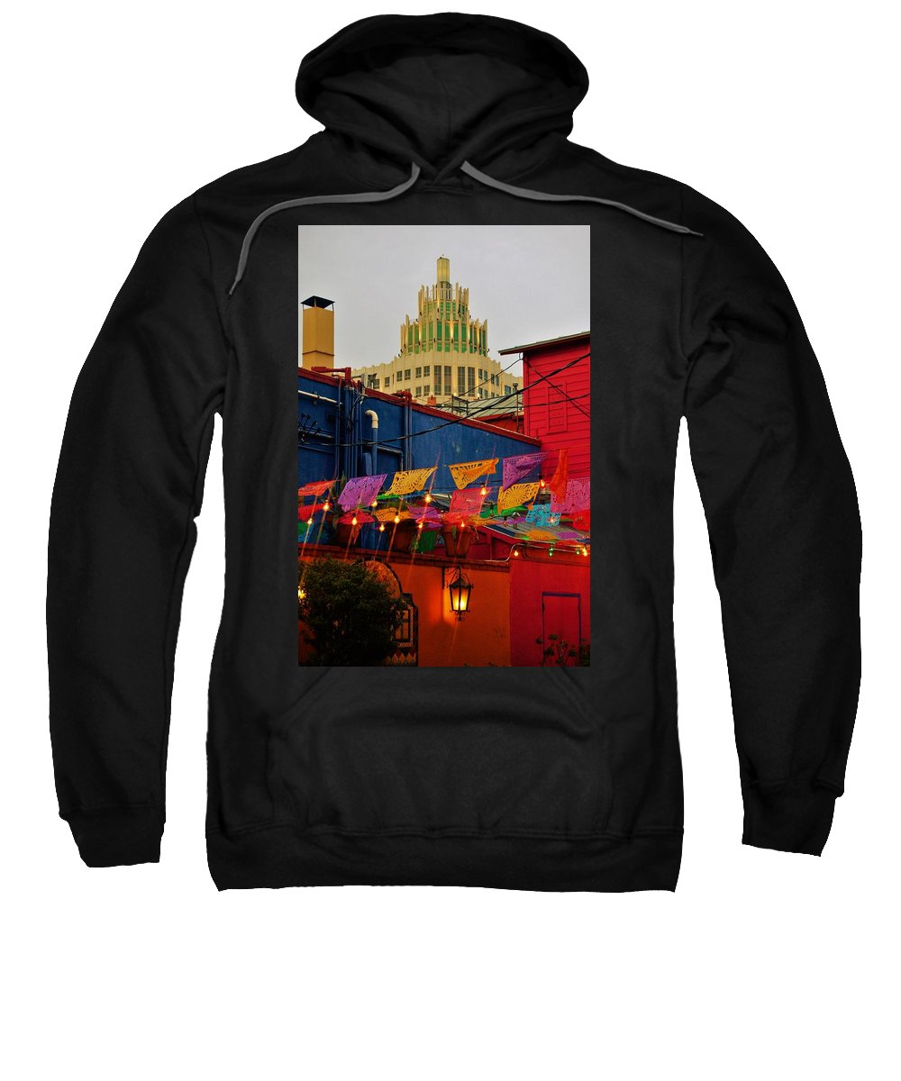San Antonio Sweatshirt featuring the photograph Market Square by Cheryl Alkire