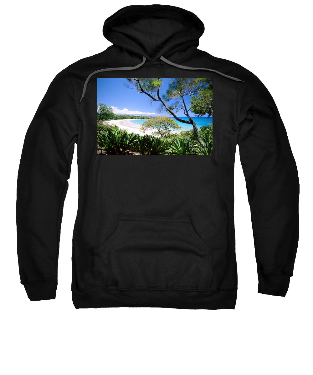 Afternoon Sweatshirt featuring the photograph Mauna Kea Beach by Dana Edmunds - Printscapes