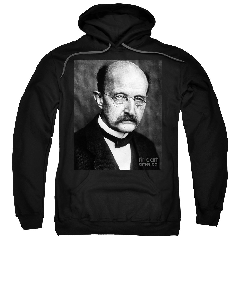1929 Sweatshirt featuring the photograph Max Planck by Granger