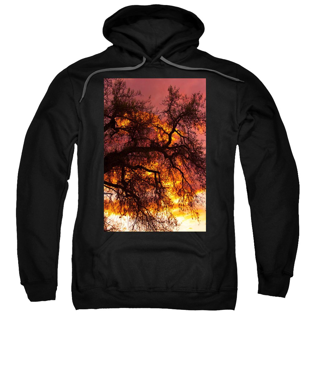 Sunset Sweatshirt featuring the photograph May One Sunset by James BO Insogna