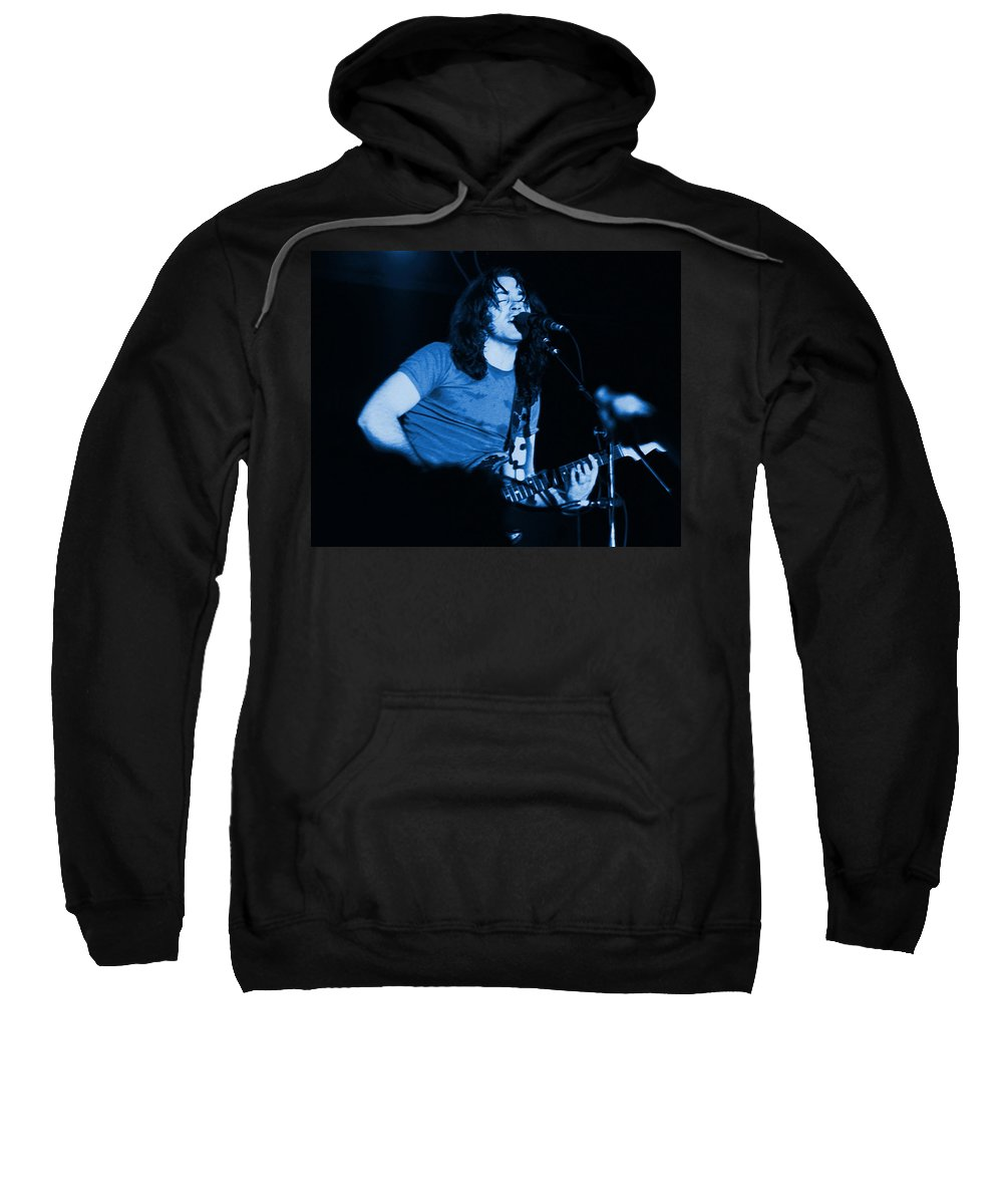 Rock Musicians Sweatshirt featuring the photograph Maybe I Will Get The Blues by Ben Upham