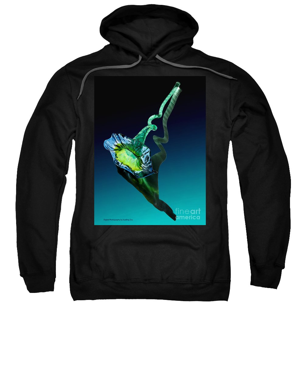 Photograph Sweatshirt featuring the photograph Melodious Growth by Xueling Zou