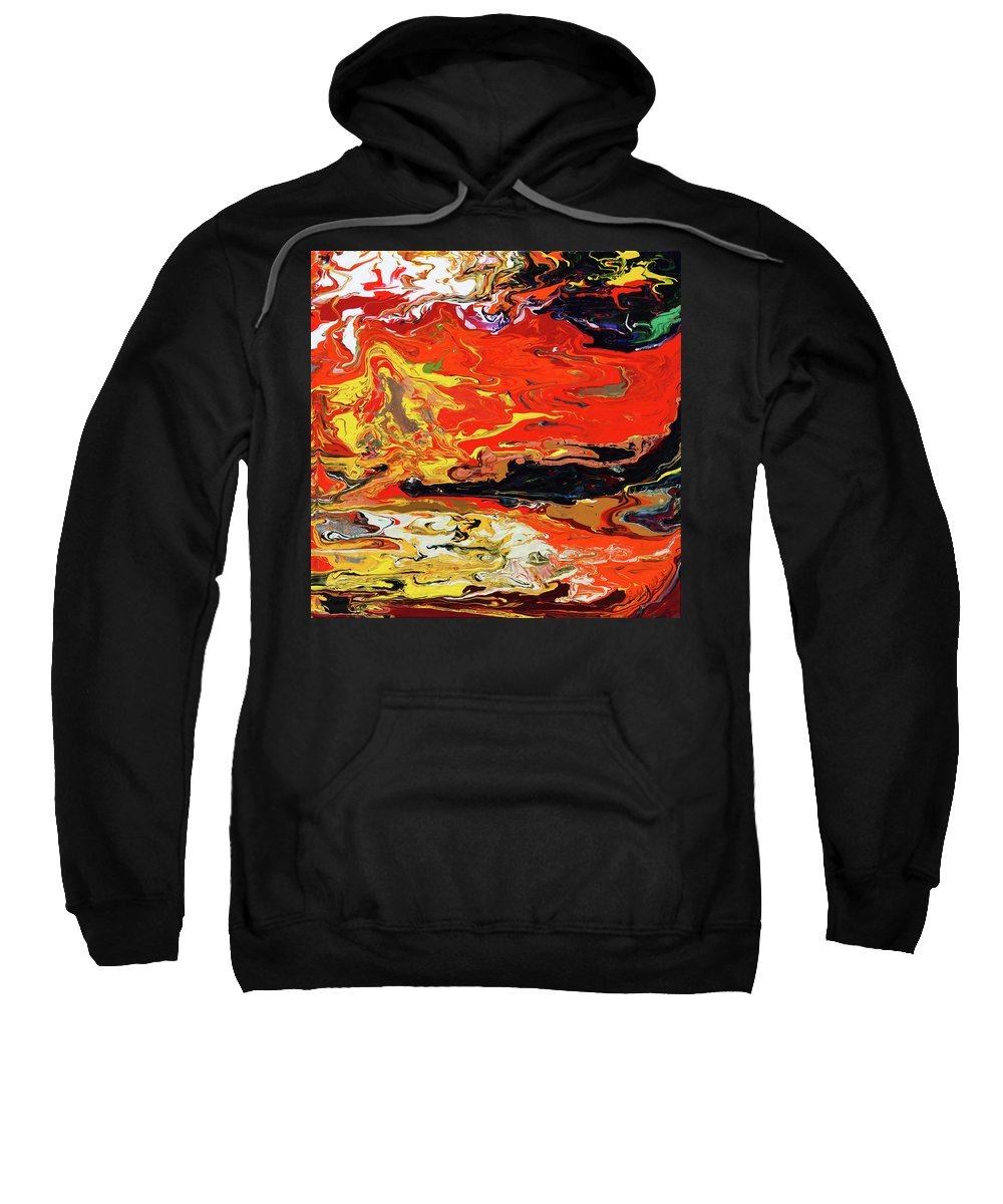 Fusionart Sweatshirt featuring the painting Melt by Ralph White
