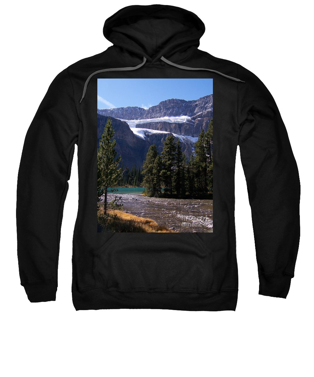 Meltwater Sweatshirt featuring the photograph Meltwater by Greg Hammond