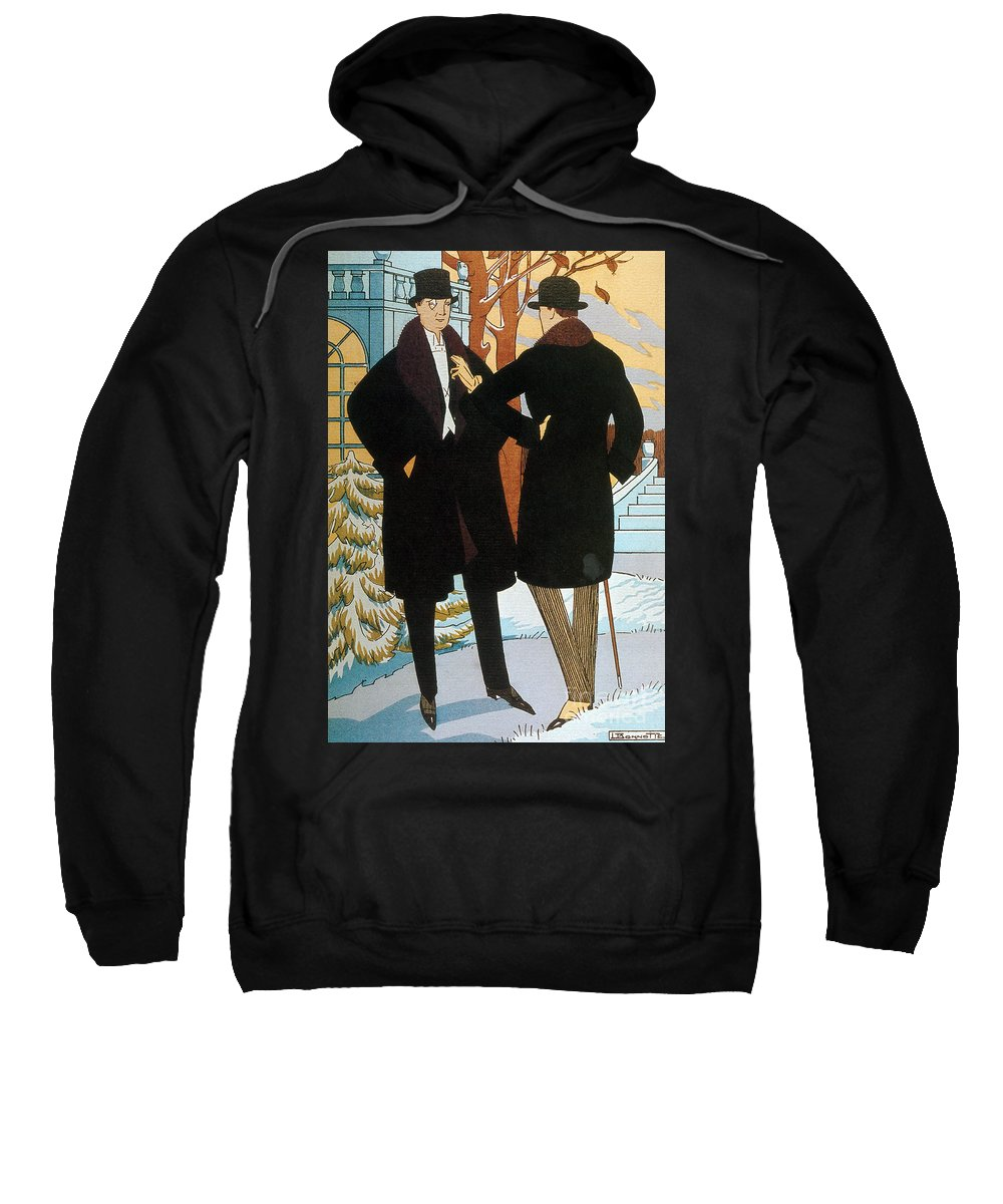 Fashion Sweatshirt featuring the photograph Mens Fashion, 1919 by Science Source