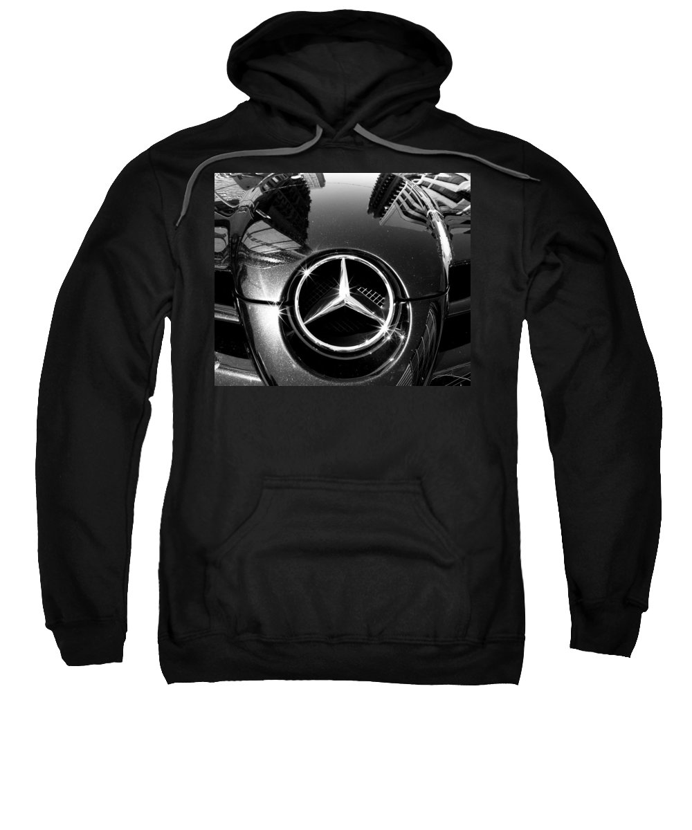 Mercedes Benz Sweatshirt featuring the photograph Mercedes Maclaren by Andrew Fare