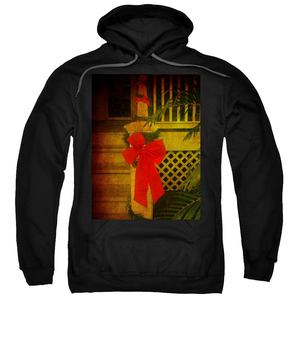 Christmas Sweatshirt featuring the photograph Merry Christmas To You by Susanne Van Hulst