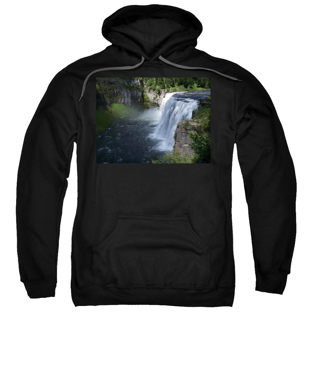 Landscape Sweatshirt featuring the photograph Mesa Falls by Gale Cochran-Smith