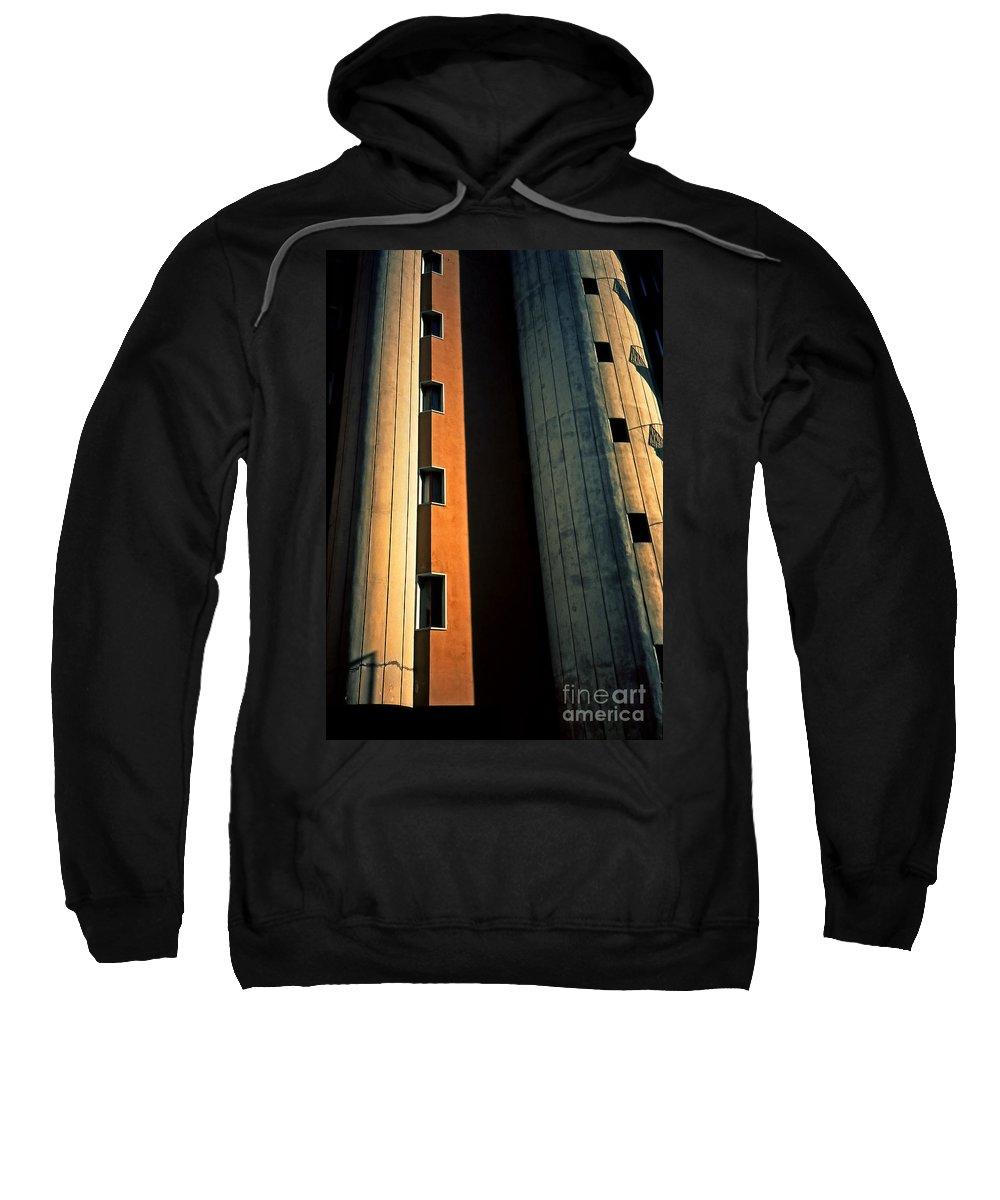 Metropolis Sweatshirt featuring the photograph Metropolis by Silvia Ganora