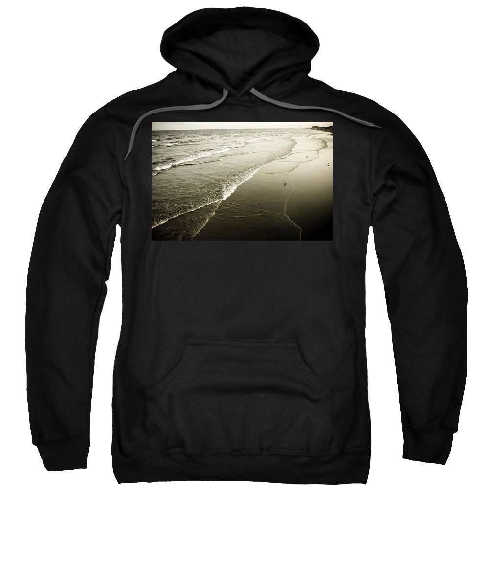 Ocean Sweatshirt featuring the photograph Mid-summer Morning by Marilyn Hunt