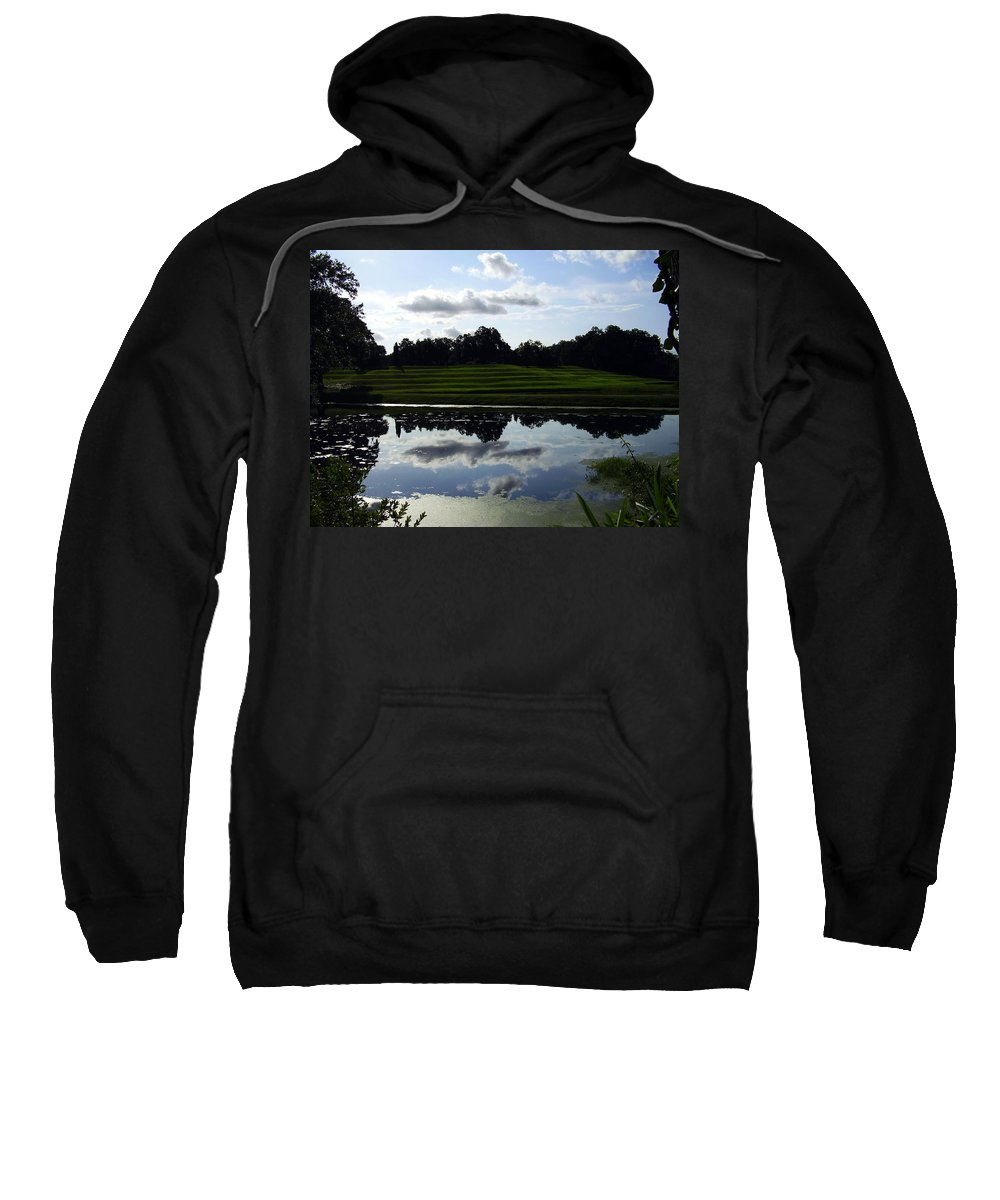 Middleton Place Sweatshirt featuring the photograph Middleton Place II by Flavia Westerwelle