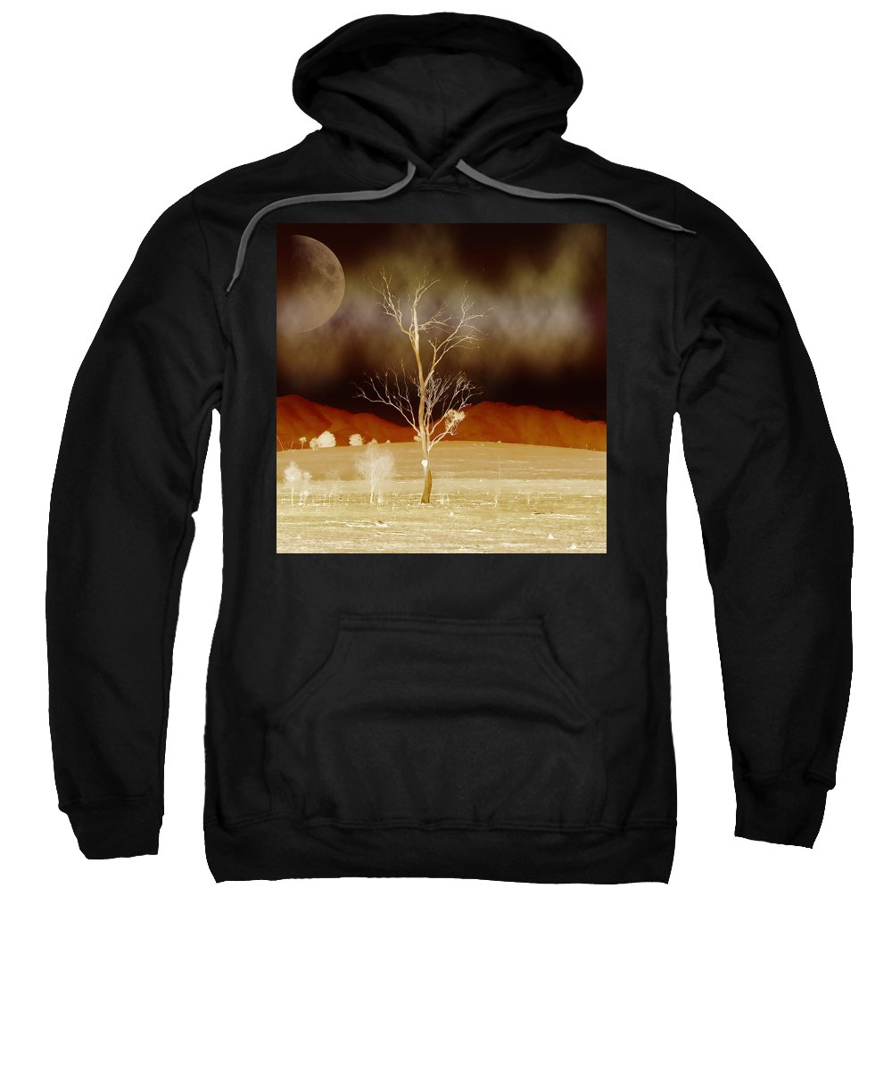 Landscapes Sweatshirt featuring the photograph Midnight Vogue by Holly Kempe