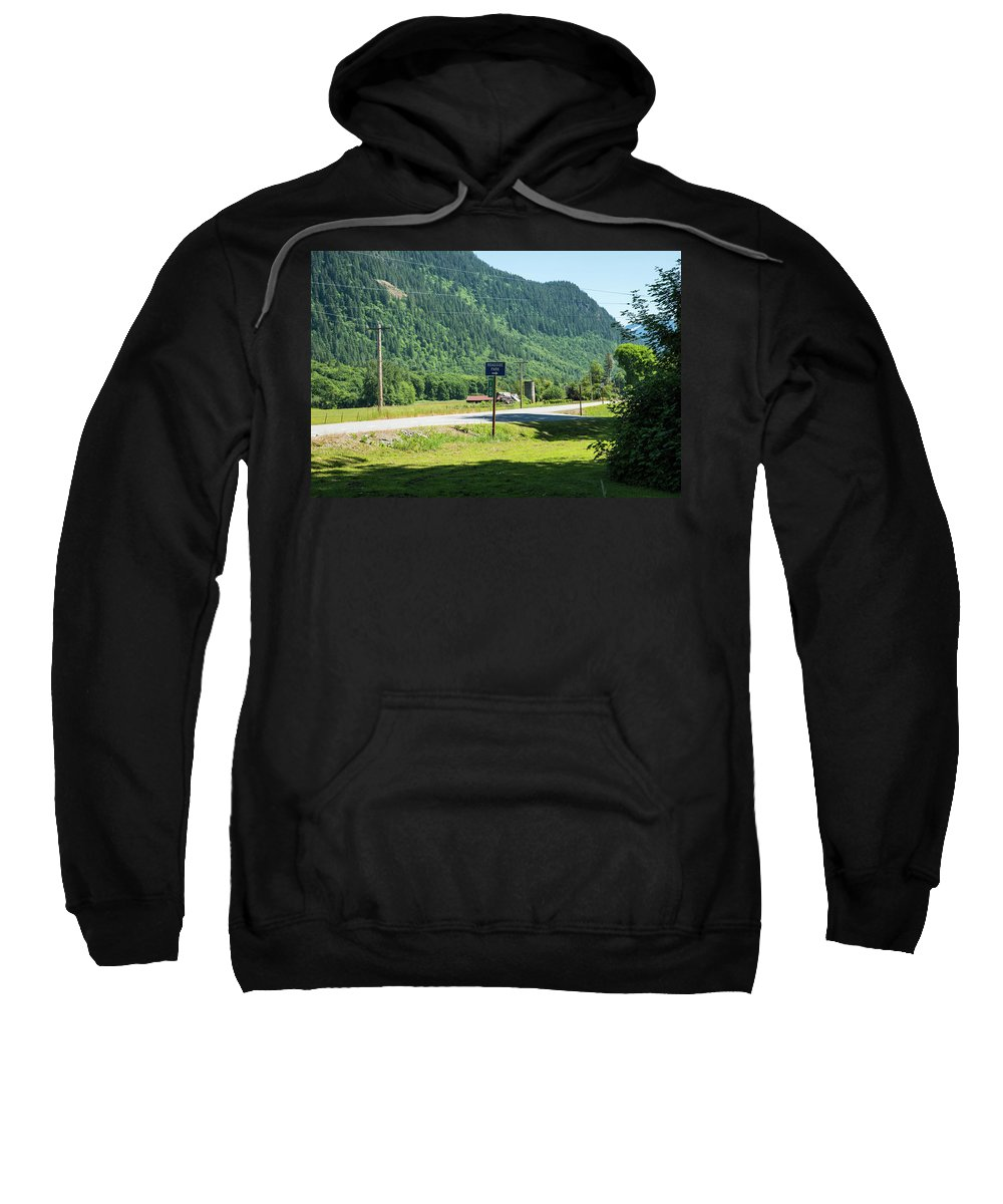 Mile Marker 100 Sweatshirt featuring the photograph Mile Marker 100 by Tom Cochran