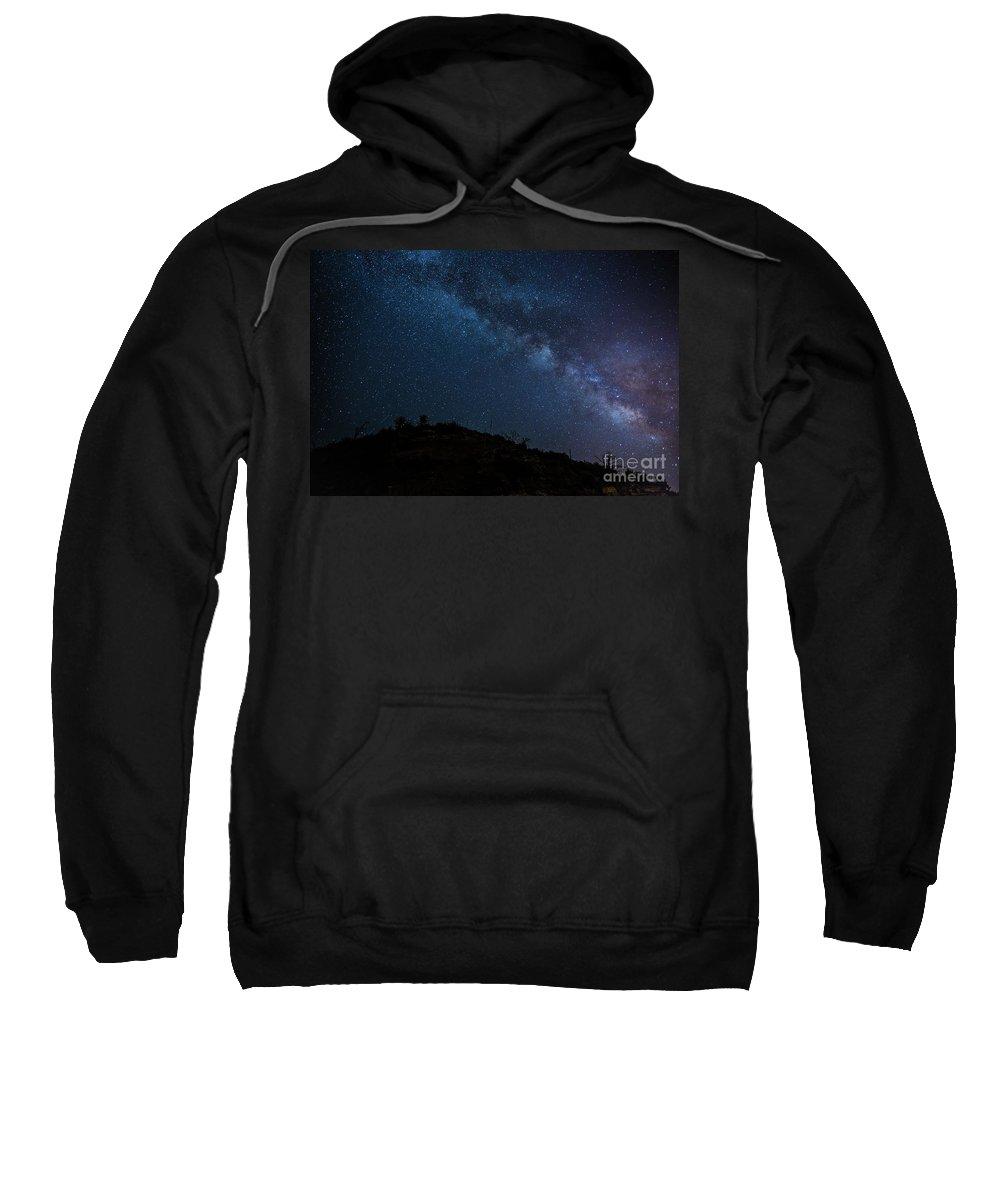 Milky Way Sweatshirt featuring the photograph Milky Way 1 by Billy Bateman