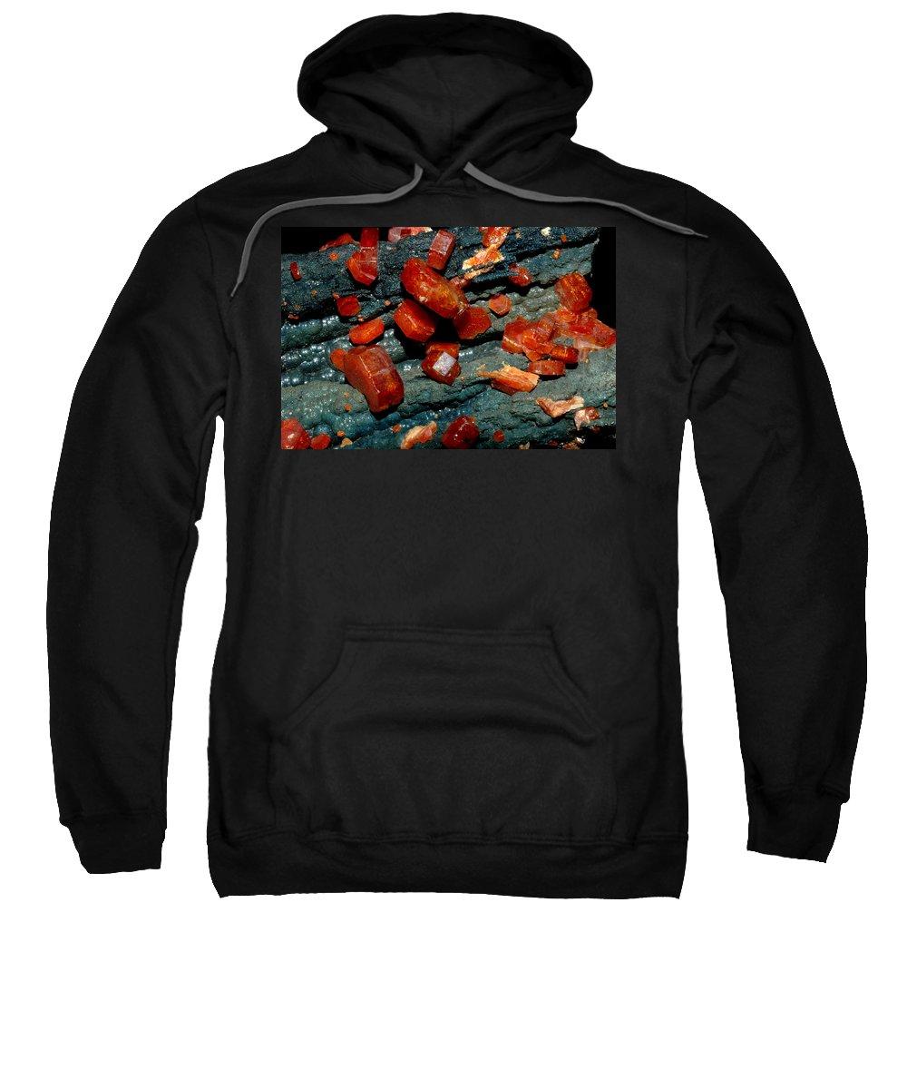 Mineral Sweatshirt featuring the digital art Mineral by Bert Mailer