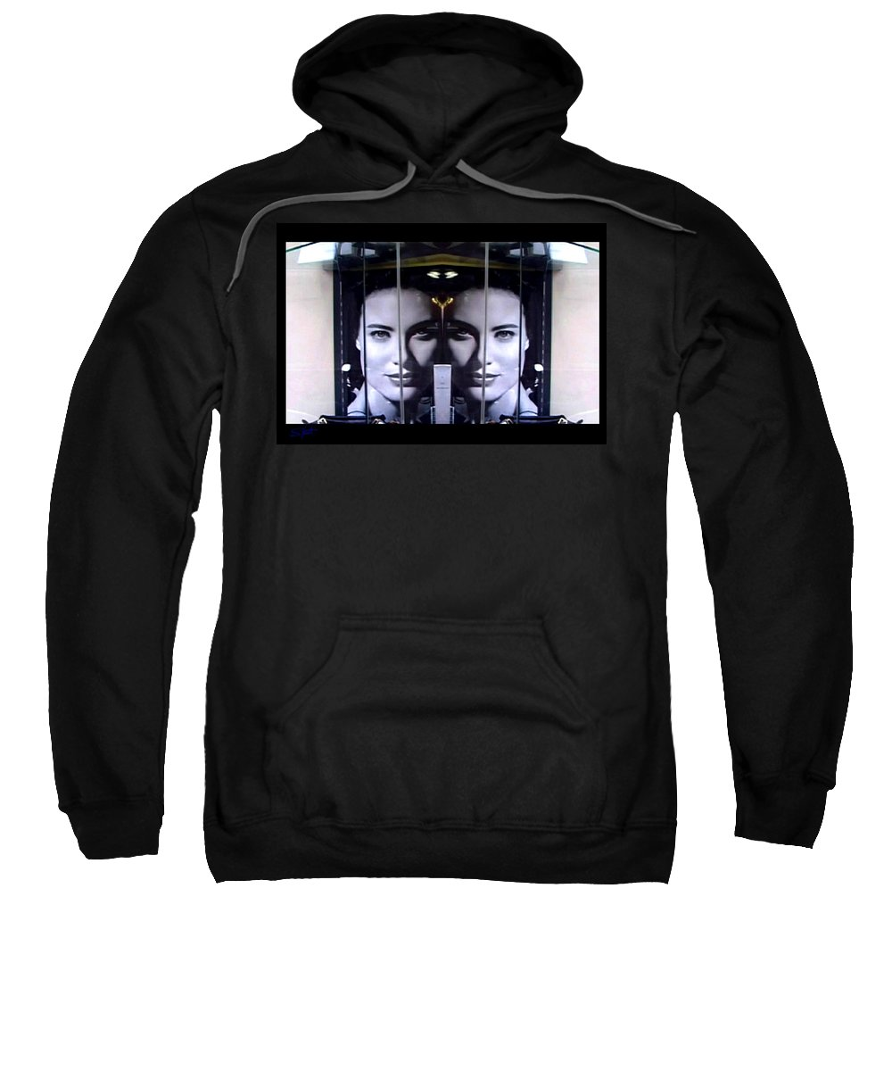 Dream Sweatshirt featuring the photograph Mirror Image by Charles Stuart