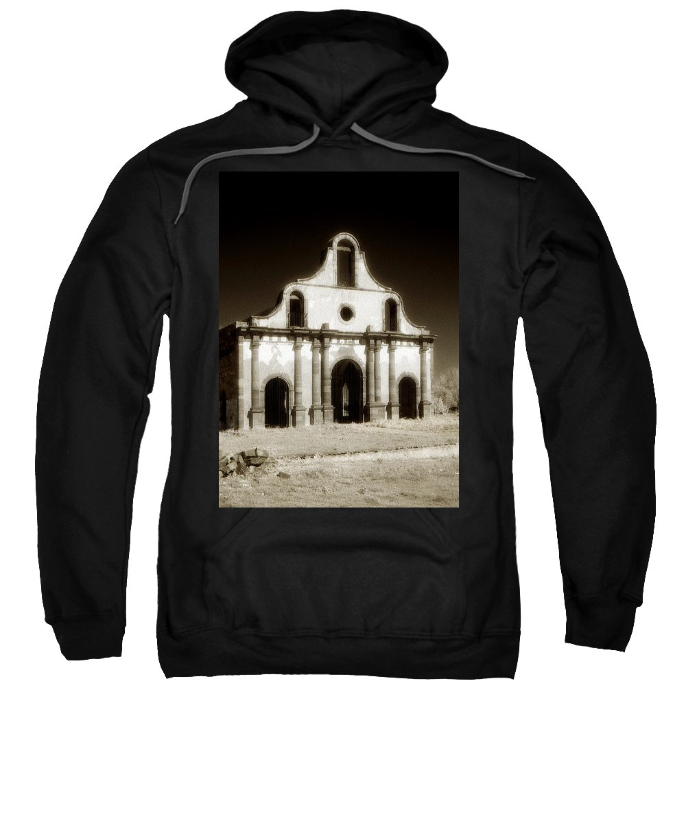 Mission Sweatshirt featuring the photograph Mission Abandoned by Marilyn Hunt
