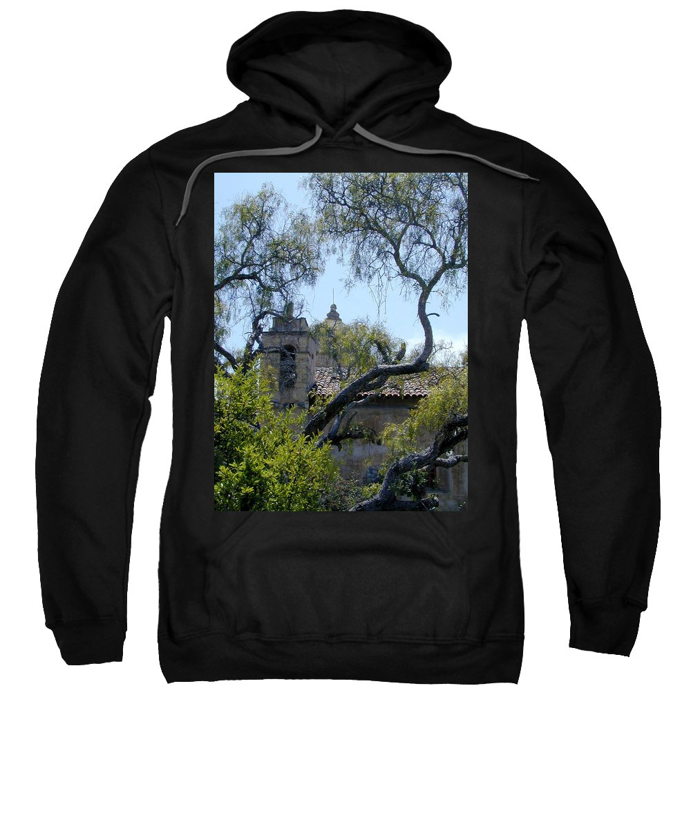 Mission Sweatshirt featuring the photograph Mission At Carmell by Douglas Barnett