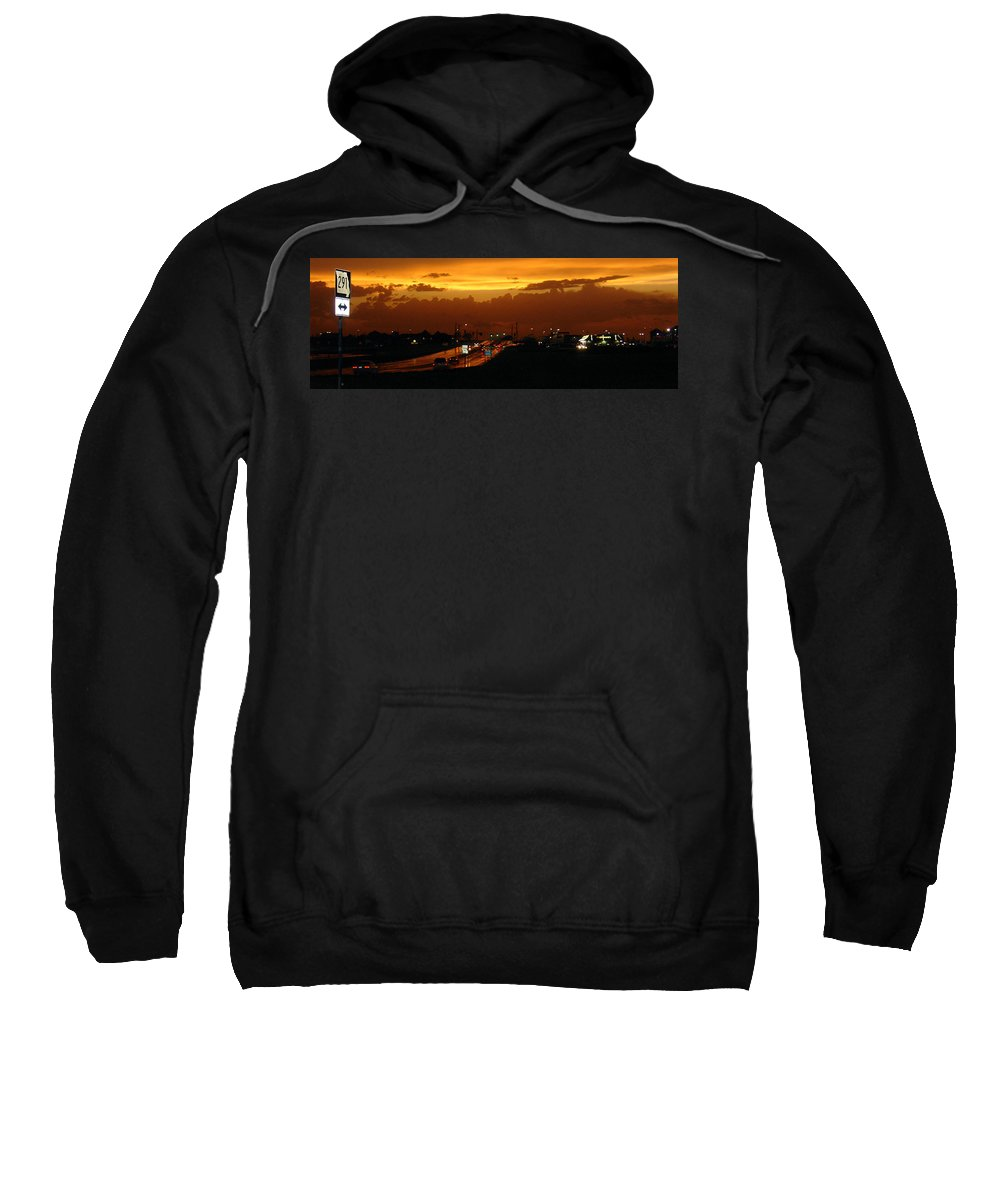Landscape Sweatshirt featuring the photograph Missouri 291 by Steve Karol