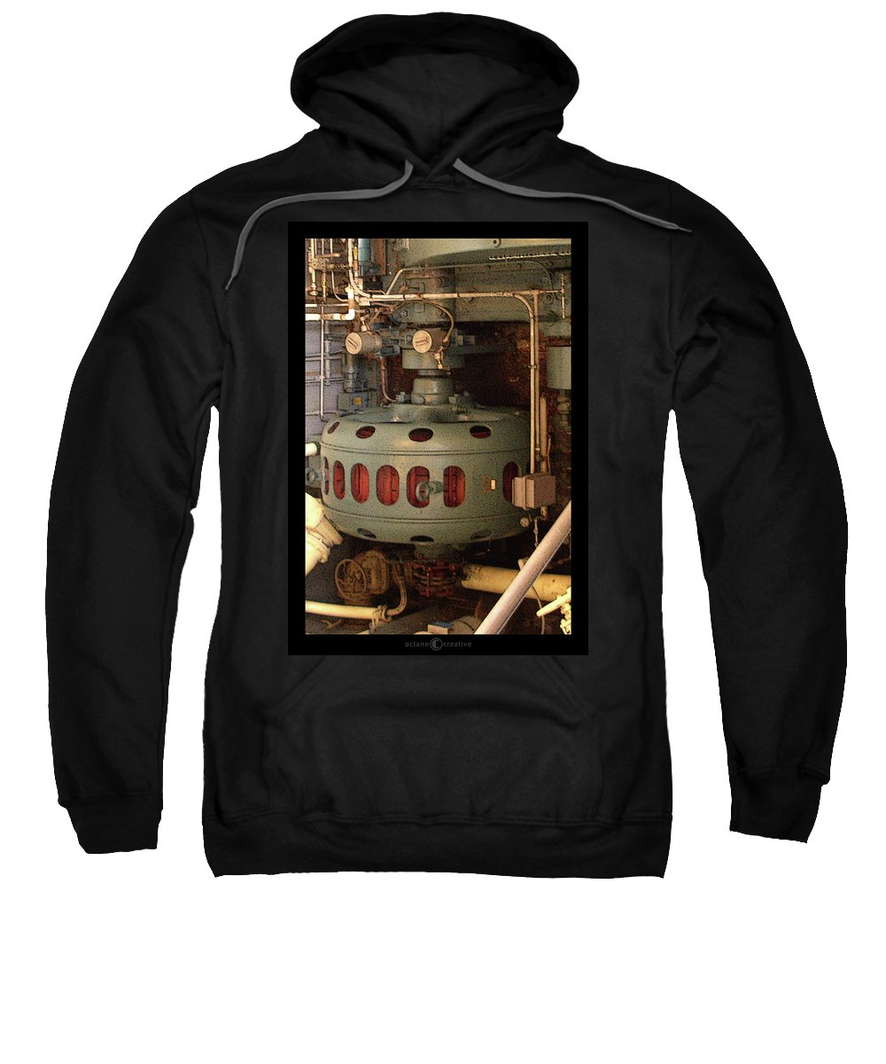 Robot Sweatshirt featuring the photograph Mister Roboto by Tim Nyberg