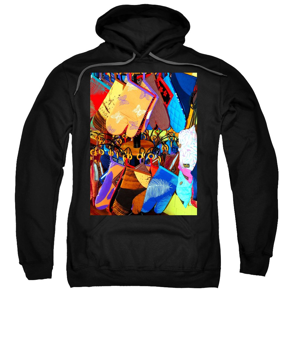 Mitts Sweatshirt featuring the photograph Mitts by Ian MacDonald
